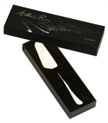 Signature camelot stainless steel cake server