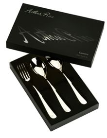 Arthur Price Signature camelot stainless steel set 3 servers