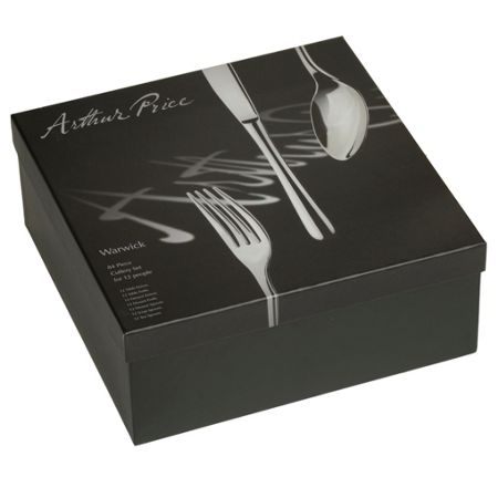 Arthur Price Warwick 84 pce stainless steel 12 person box set
