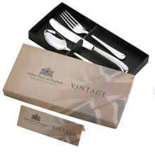 Arthur Price Vintage stainless steel 3 piece children`s set