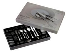 Arthur Price Royal Pearl 44 pce stainless steel cultery set
