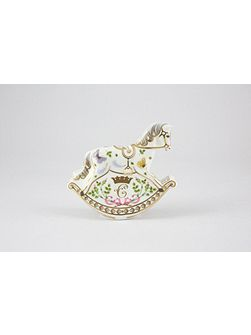 Princess charlotte - rocking horse ornament