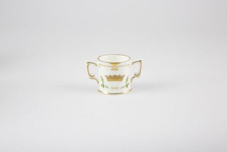 Royal Crown Derby Princess charlotte - mini loving cup ornament