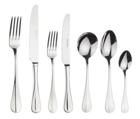 Arthur Price Baguette stainless steel 7 piece setting