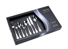 Arthur Price Baguette stainless steel 44 piece box