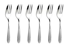 Arthur Price Dune Stainless Steel Pastry Forks Box of 6