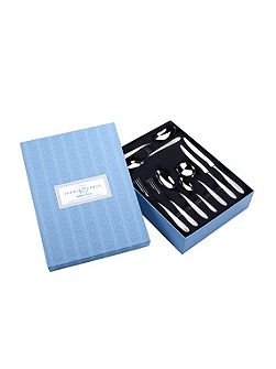 Dune Stainless Steel 44 piece box for 6