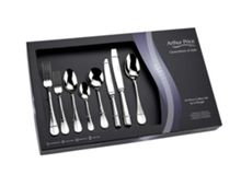 Arthur Price Baguette stainless steel 44 piece box set