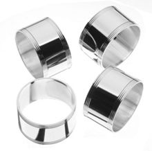 Arthur Price Silver plated set of 4 napkin rings