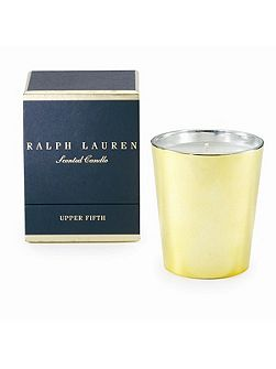 Upper fifth single wick candle