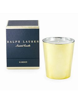 Garden single wick candle