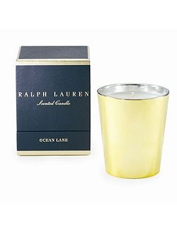 Ocean lane single wick candle