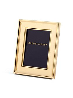 Cove photo frame 5 x 7 gold plated
