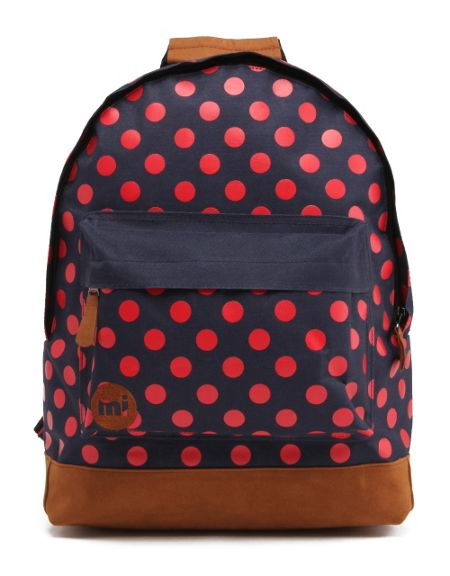 Mi Pac Polka dot backpack