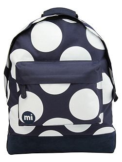 Polka dot xl backpack
