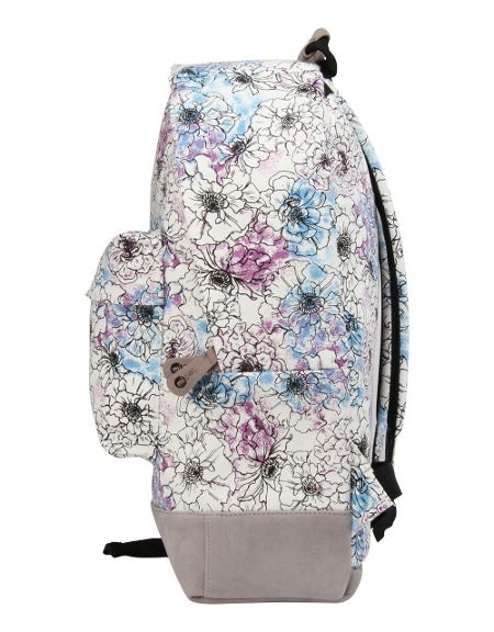 Mi Pac Unfinished floral backpack