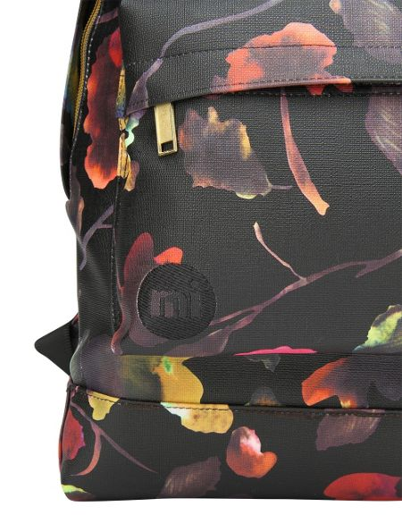 Mi Pac Watercolour floral backpack