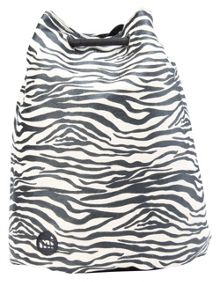 Mi Pac Canvas zebra swing bag