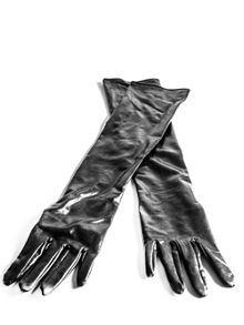 Ann Summers Long Wet Look Gloves