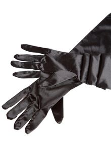 Ann Summers Elbow Length Satin Gloves