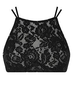 Lowe lace crop top