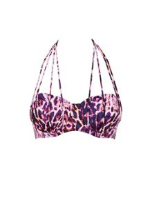 Ann Summers Tai animal bikini top