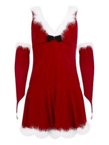 Ann Summers Miss hooded santa