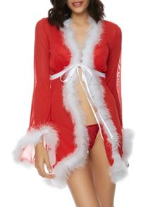 Ann Summers Miss sexy santa robe