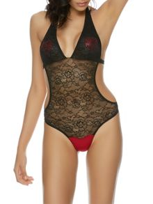 Ann Summers Heart glitz body