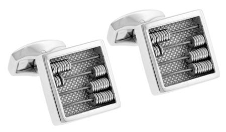 Tateossian Brass Rodium Plated Cufflinks