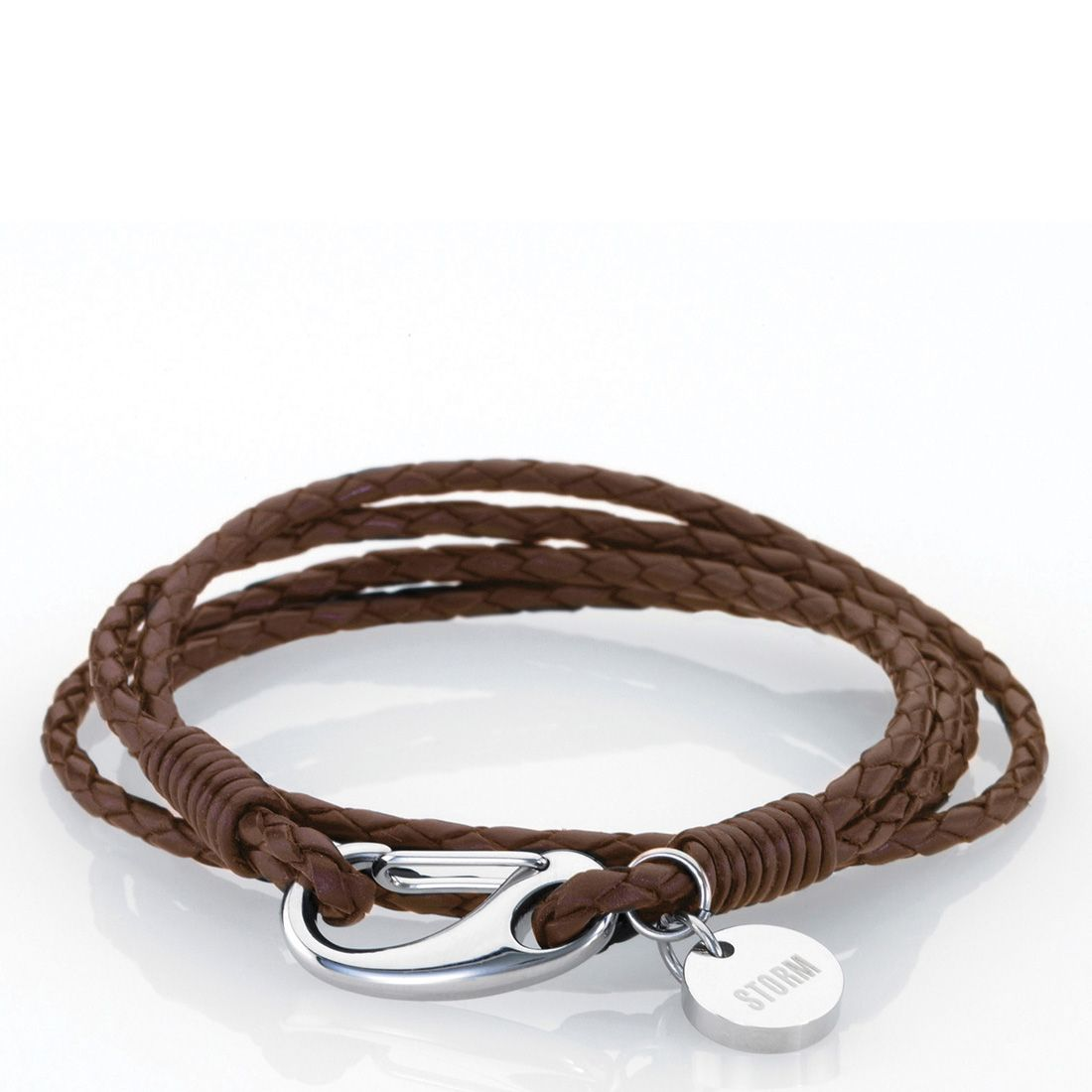 storm brown jax wrap bracelet