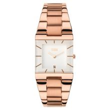 Omari rose gold watch