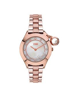 Sparkelli rose gold watch
