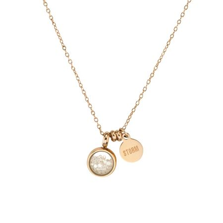 Storm Rose gold mimi necklace