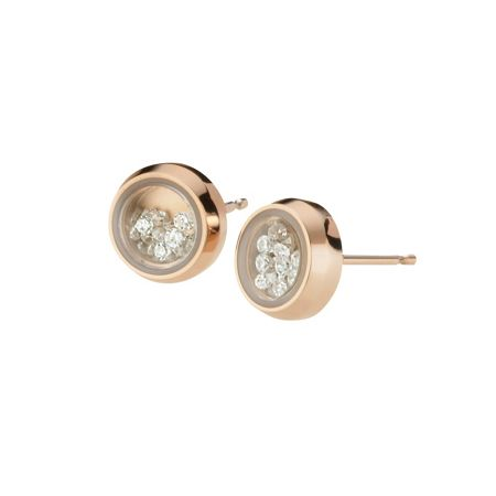 Storm Rose gold mimi earrings