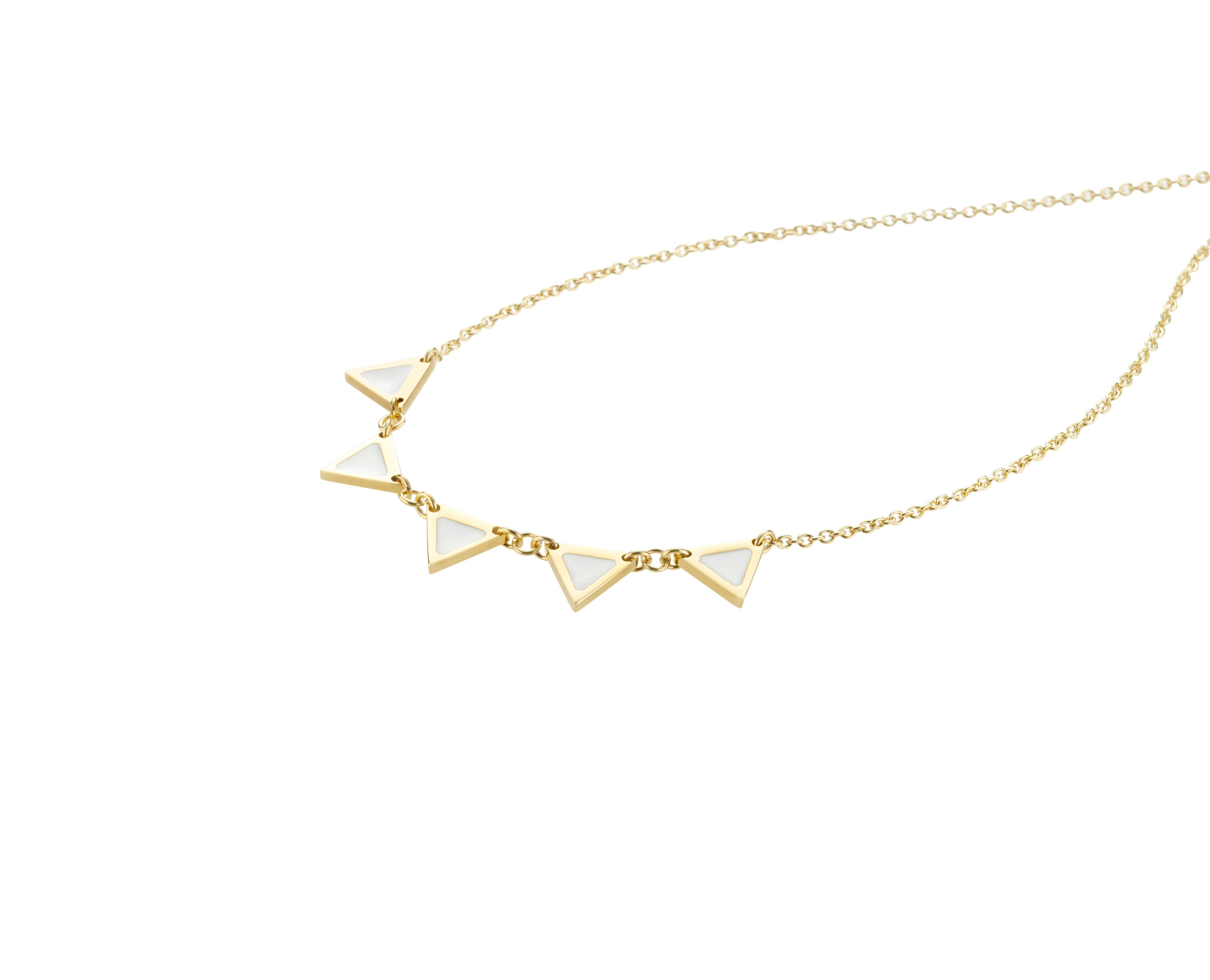 Enamelli necklace gold