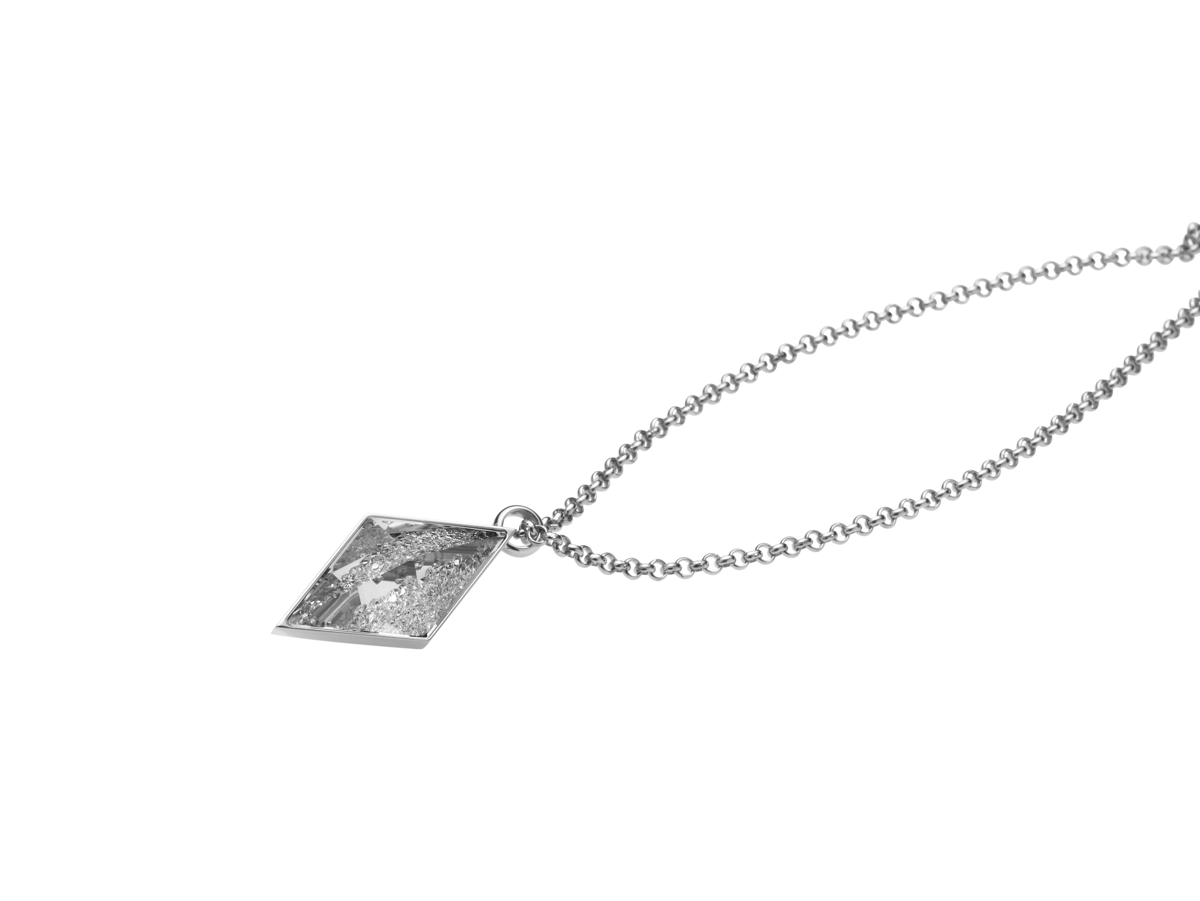 Razzle necklace silver