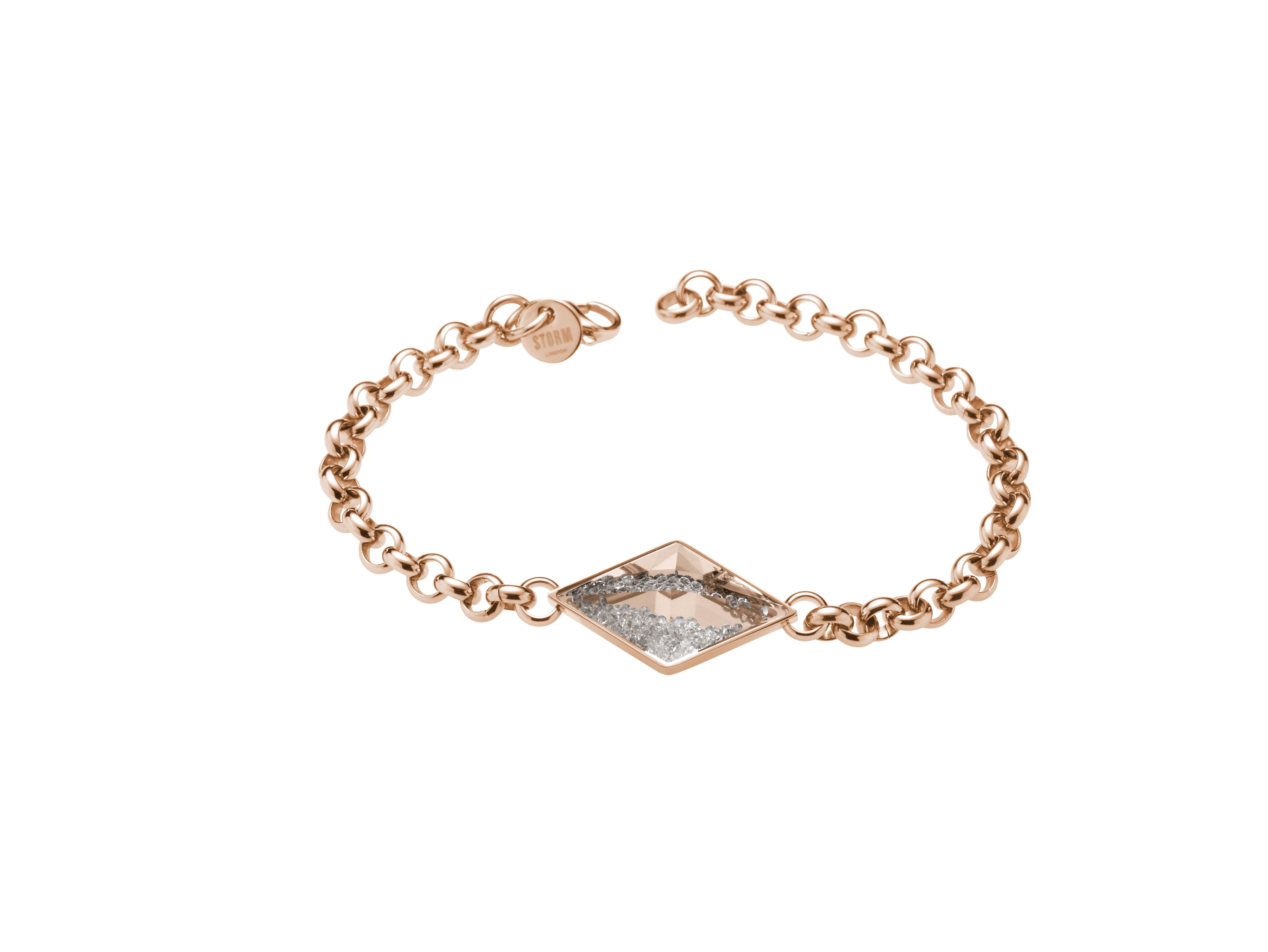 Razzle bracelet rose gold