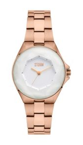 Crystana rose gold watch