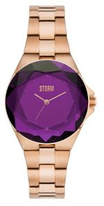 Storm Crystana rose gold watch