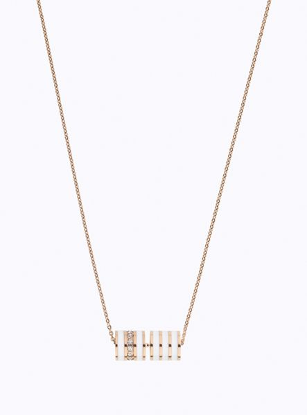 Storm Eva rose gold necklace