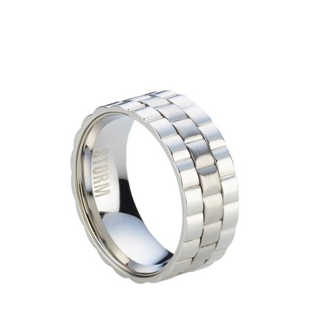 Storm Velo silver ring