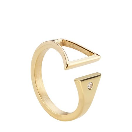 Storm Rohaise gold ring