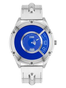 Storm Steffentron lazer blue watch