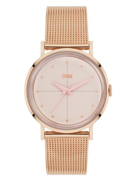 Storm Chelsi rose gold watch