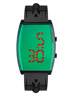 Digitron slate green watch