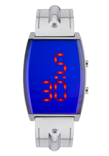 Storm Digitron lazer blue watch