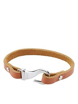 Hook Bracelet Brown