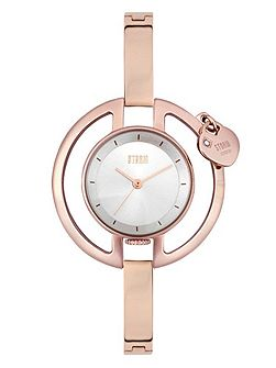 Charmella rose gold watch