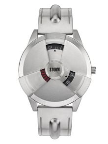 Storm Radiation X Silver Watch